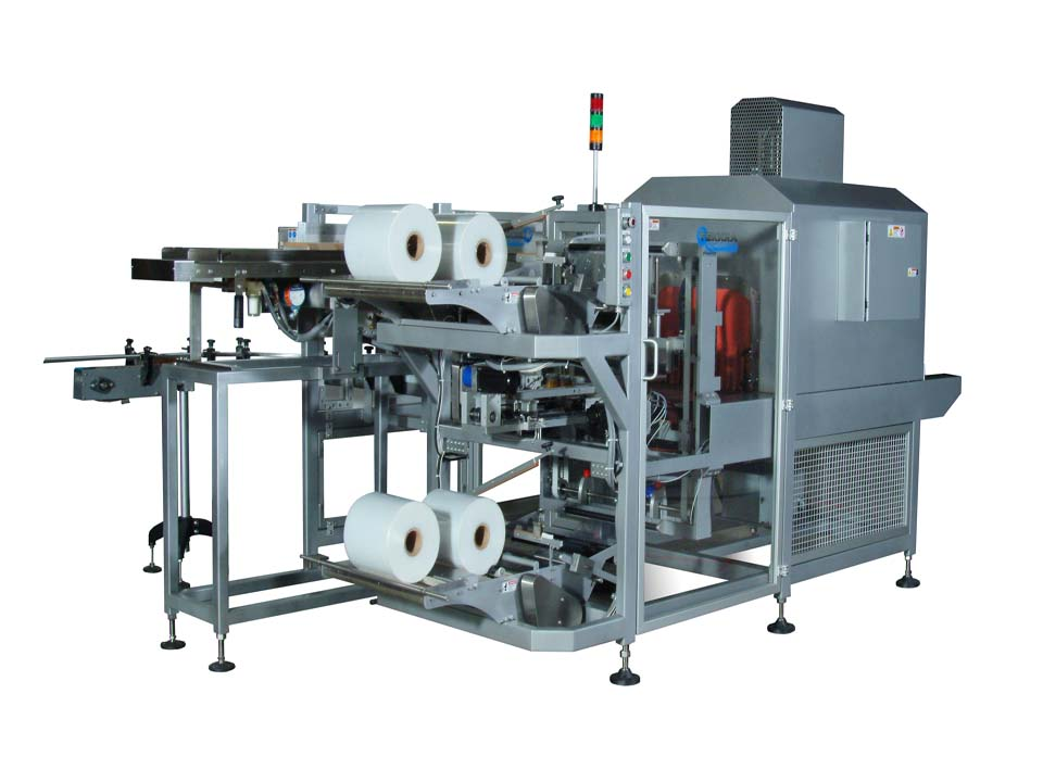 Offset In-Line Multipacker - 300 Series - Intermittent Motion Bundling Systems
