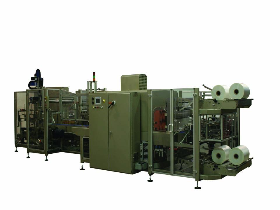All-in-One Case Packer & Wrapper - Custom Bundling Systems