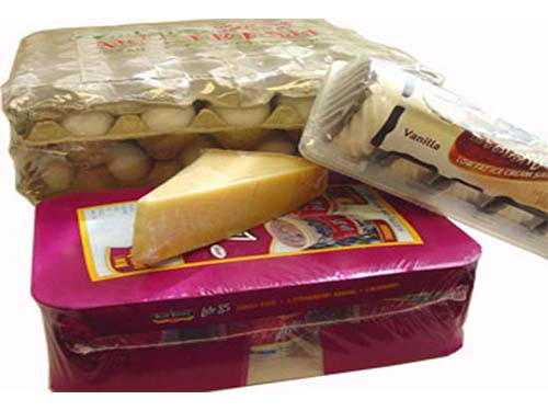 Texwrap Shrink Wrapping Solutions - Dairy Products