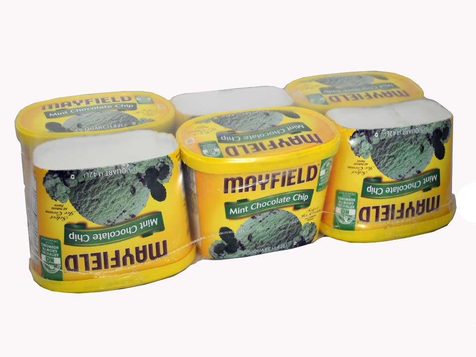 Texwrap Shrink Bundling Solutions - Mayfield 960 - Dairy and Ice Cream Industry