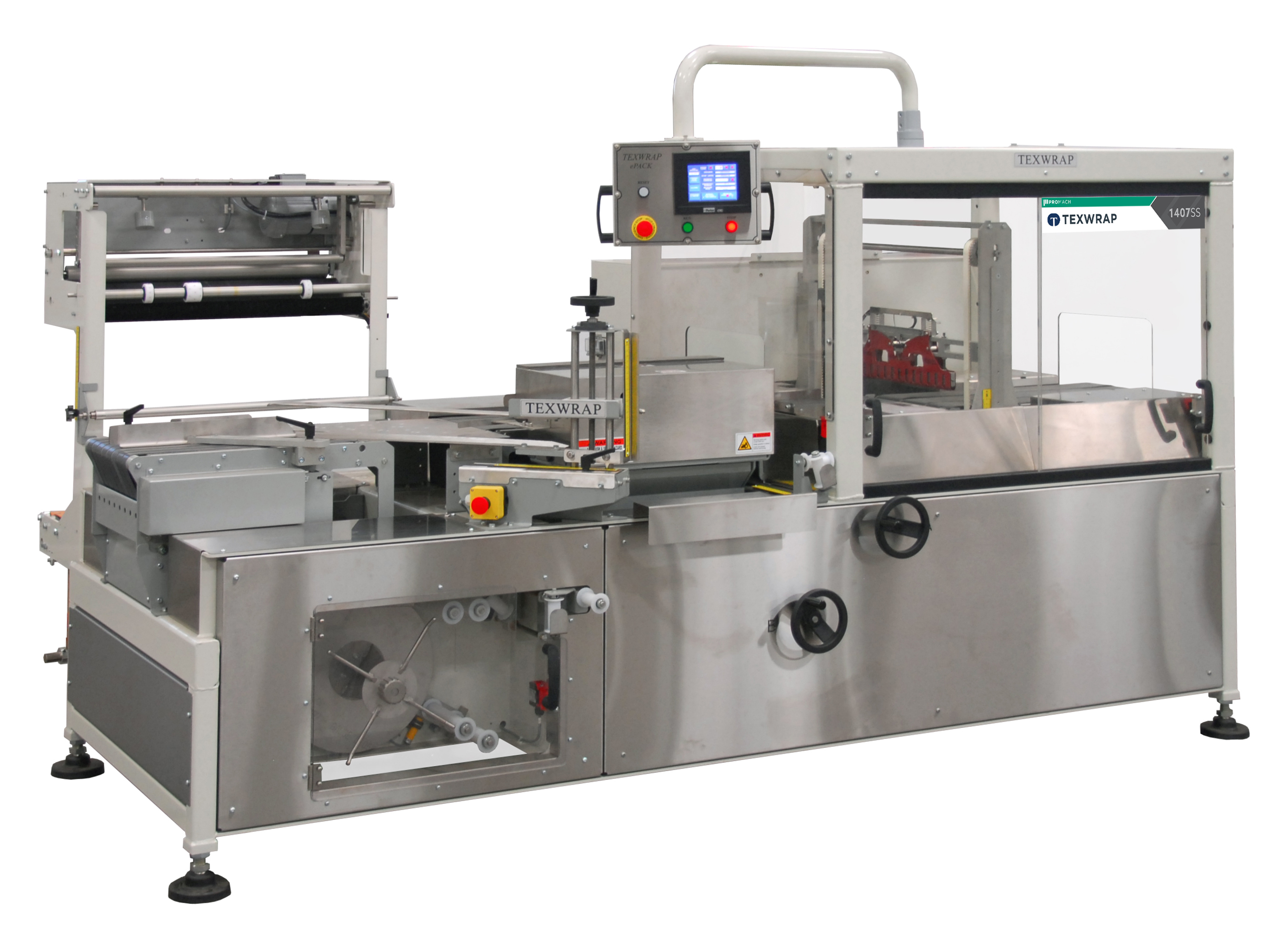 Moderate Speed 1407SS Continuous Motion Side Seal Wrapper - Continuous Motion Systems