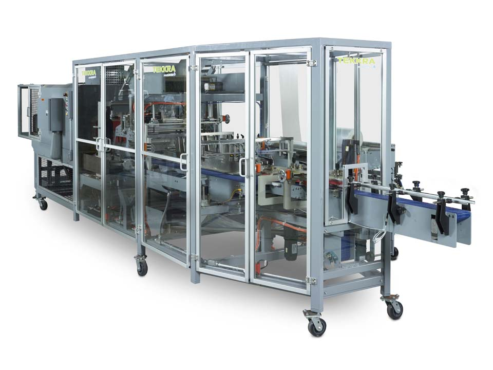Continuous Motion In-Line Bundler - 5100 Series - Continuous Motion Bundling Systems